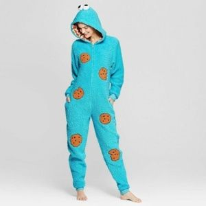 Women's Plush Warm Union Suit Zip-up Pajama